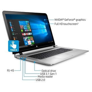 "Refurbished HP ENVY 17-s143cl 17.3"" FHD Touchscreen Notebook w/ i7-7500U 16GB RAM 1TB HDD"