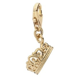 Julieta Jewelry Crown Clip-On Charm
