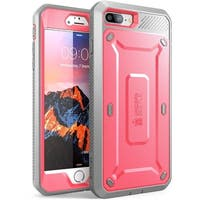 SUPCASE-Apple iPhone 7,Unicorn Beetle PRO Series Case-Pink/Gray