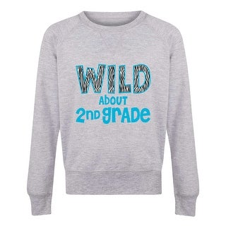 Wild About 2Nd Grade - Youth Girls Slouchy Ft