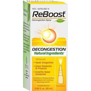 Reboost Nasal Spray Decongestion 20 Ml