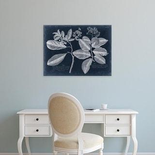 Easy Art Prints Vision Studio's 'Foliage on Navy IV' Premium Canvas Art