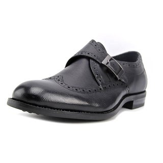 Stacy Adams Goldwyn Men  Round Toe Leather Black Oxford