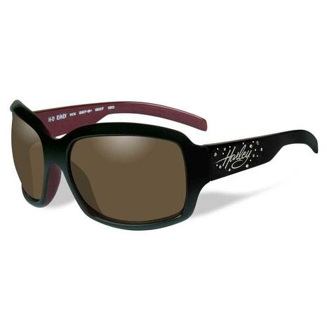 5986cc93b1 Shop Harley-Davidson Womens Rhinestone Randi Sunglasses Copper Lens Red  Frame HRRND23 - Red - 57-19-120 - Free Shipping Today - Overstock - 18184032