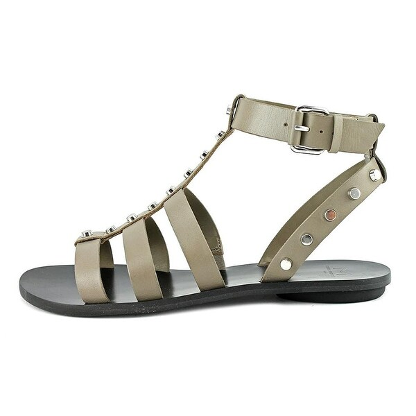 Marc Fisher Womens ERIN Leather Open Toe Casual Gladiator Sandals