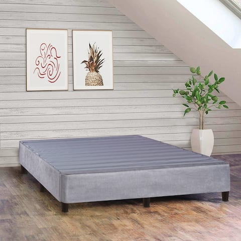 ONETON 13-Inch Platform Bed For Mattress, Eliminate Need For Box Spring And Frame, Grey