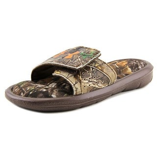 Under Armour Ignite Camo IV SL Open Toe Synthetic Slides Sandal