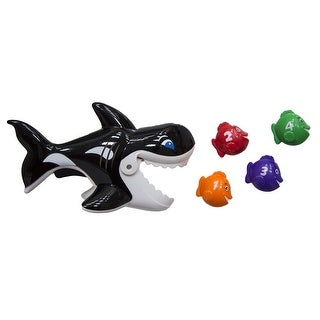"""7"""" Gobble Gobble Guppies Swim and Learn Whale Swimming Pool Children's Toy"""