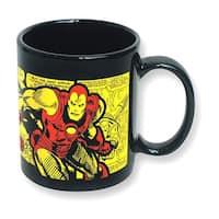 Marvel The Invincible Iron Man Comic Wrap 11 oz Ceramic Mug - Multi