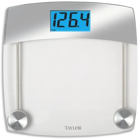 Taylor 75244192 Digital Bathroom Scale, Gray