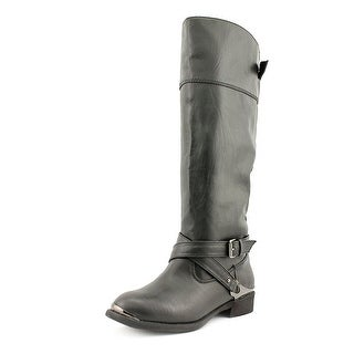 Report Neves   Round Toe Synthetic  Knee High Boot