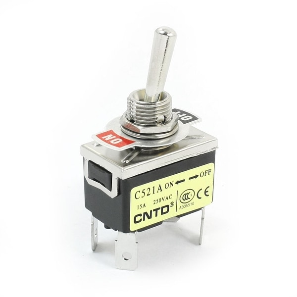 Shop C521A DPST 2 Positions Latching 4-Terminals Toggle Switch ...