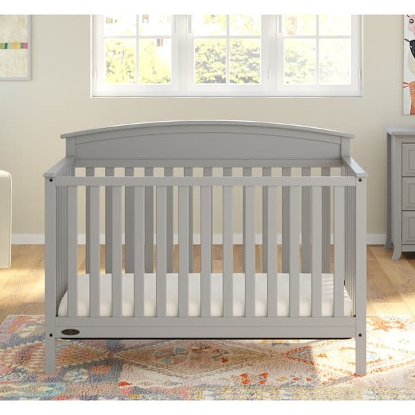 Shop Graco Benton 4 In 1 Convertible Crib Easily Converts To Toddler Bed Daybed Or Full Size Overstock 23526326