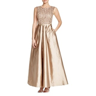 Aidan Mattox Womens Formal Dress Taffeta Embellished