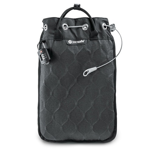 Pacsafe Travelsafe 5L GII - Portable Safe w/ iPad Compatible Sleeve-Single Pack