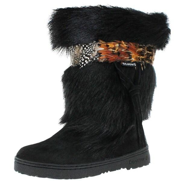 Bearpaw Kola II 1290 Women's Cow Hair Warm Lined Boots