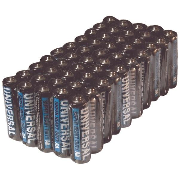 Upg D5322/D5922 Super Heavy-Duty Battery Value Box (Aa; 50 Pk)