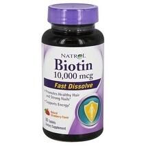 Natrol Biotin 10,000 Mcg (60 Tablets)