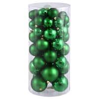 Vickerman N112204A 1.5 in. -2 in. Green Balls Shiny-Matte 50-Box