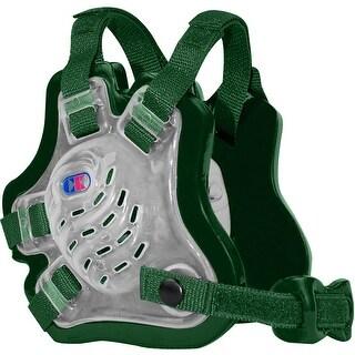 Cliff Keen F5 Tornado Wrestling Headgear - Translucent/Dark Green/Dark Green - translucent/dark green/dark green