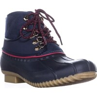 1622b294db34b4 Shop Tommy Hilfiger Ravel 2 Women s Quilted Duck Boots - Free ...