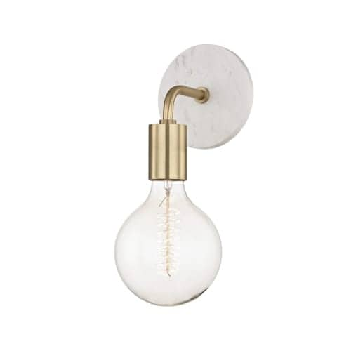 Mitzi H110101A Chloe Single Light 12-1/2  High Wall Sconce  sc 1 st  Overstock.com : overstock wall sconces - www.canuckmediamonitor.org