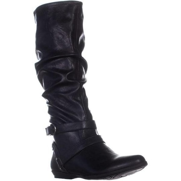 Cliffs by White Mountain Womens Fairfield Almond Toe Mid-Calf Fashion Boots. Opens flyout.