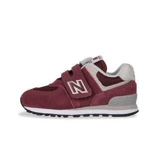 New Balance Baby IV574GB Suede Buckle Sneakers - 2 m us infant