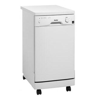 Danby DDW1801MWP 18 Portable Energy Star Dishwasher