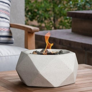 Geo Table Top Fire Bowl - Geo Fire Bowl
