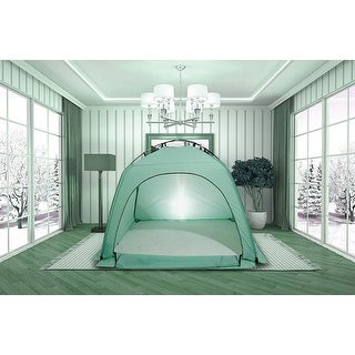 Privacy Play Tent on Bed,Warm Sleep Bed Tent for Kids Indoor Use - 1pc