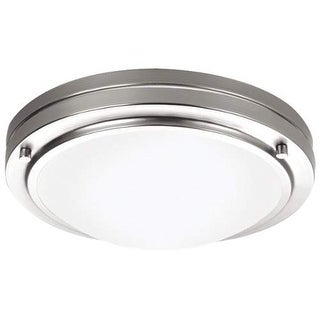 "Forecast Lighting F245036N1 1 Light 10.63"" Wide Flush Mount Ceiling Fixture from the West End Collection"