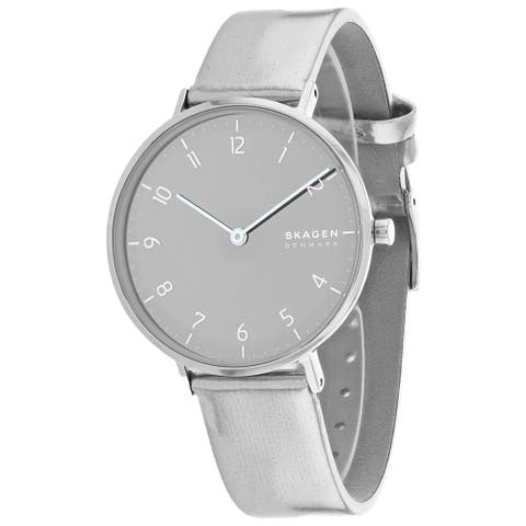 Fossil Women's Aaren Silver Watch - SKW2854