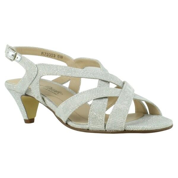 c293e38b291 Shop Rose Petals Womens Silver Sandal Sandals Size 6 New - On Sale ...