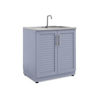 NewAge Products Outdoor Kitchen 32 Inch W x 24 Inch D Sink Cabinet