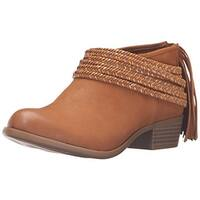 BCBGeneration Womens Craftee Leather Round Toe Ankle Fashion Boots