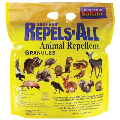 Bonide 2362 Repels-All Granules for Rodents, 6 lbs