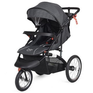 Baby-Joy Portable Folding Stroller Baby Jogger Kids Travel Pushchair Adjustable Handlebar