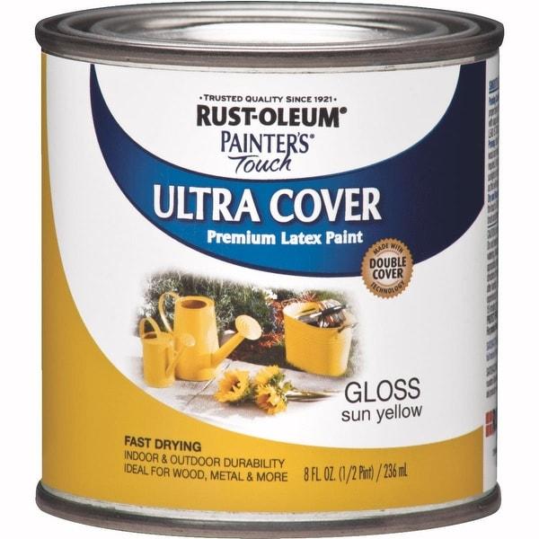 RustOleum Sun Yellow Latex Paint