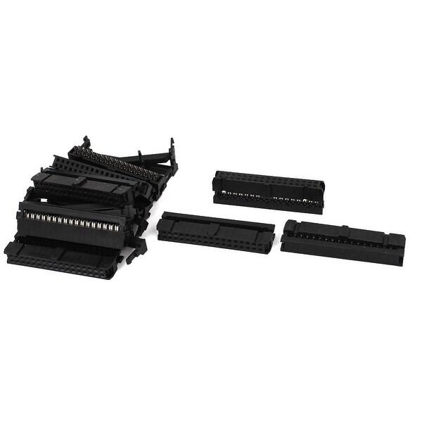 Unique Bargains 10Pcs FC-34P 34Pin 2.54mm Pitch ISP JTAG Socket Connector for Flat Ribbon Cable