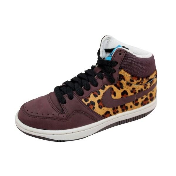 761df4421f70 Nike Women  x27 s Court Force Hi Premium Madeira Madeira-Black Cheetah