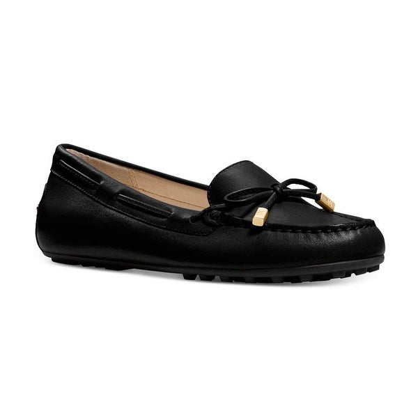 MICHAEL Michael Kors Womens Daisy Moc Leather Round Toe Loafers