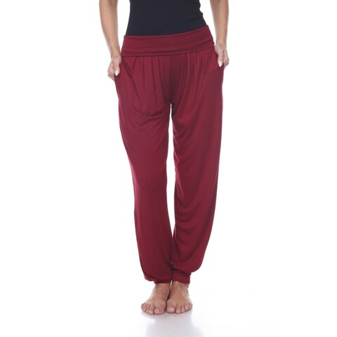 Harem Pants - Brick Red