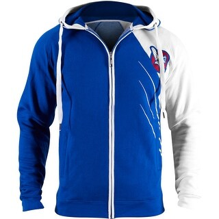 Hayabusa Recast Series Athletic Fit Zip-Up Hoodie - Blue/White - boxing mma (2 options available)