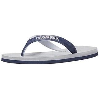 Havaianas Mens Signature Casual Flip-Flops - 7/8 medium (d)