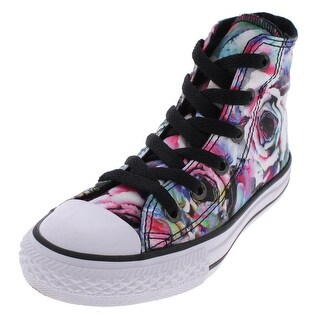 Converse Girls High Top Sneakers Trainer Round Toe