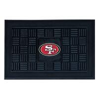 NFL San Francisco 49ers 3-D Team Medallion Vinyl Door Mat