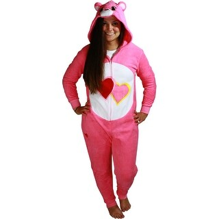 Care Bears Love-a-Lot Bear Women's Cosplay Union Suit