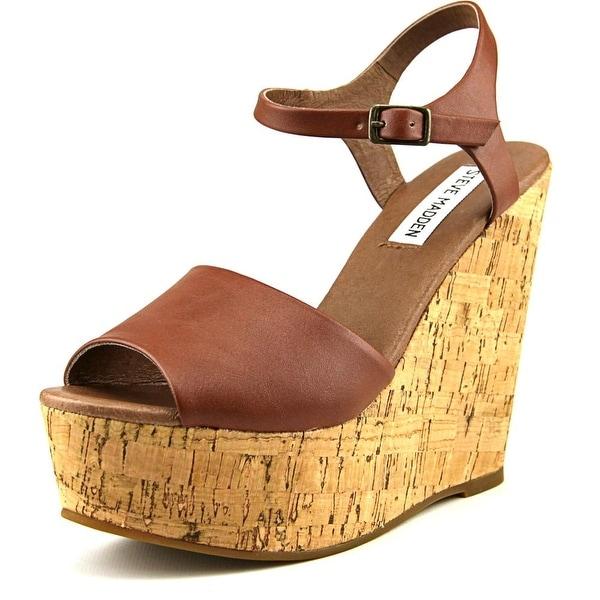 Steve Madden Korkey Open Toe Synthetic Wedge Sandal