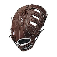 Wilson 2018 A900 First Base Mit - Right Hand Throw Dark Brown/White, 12